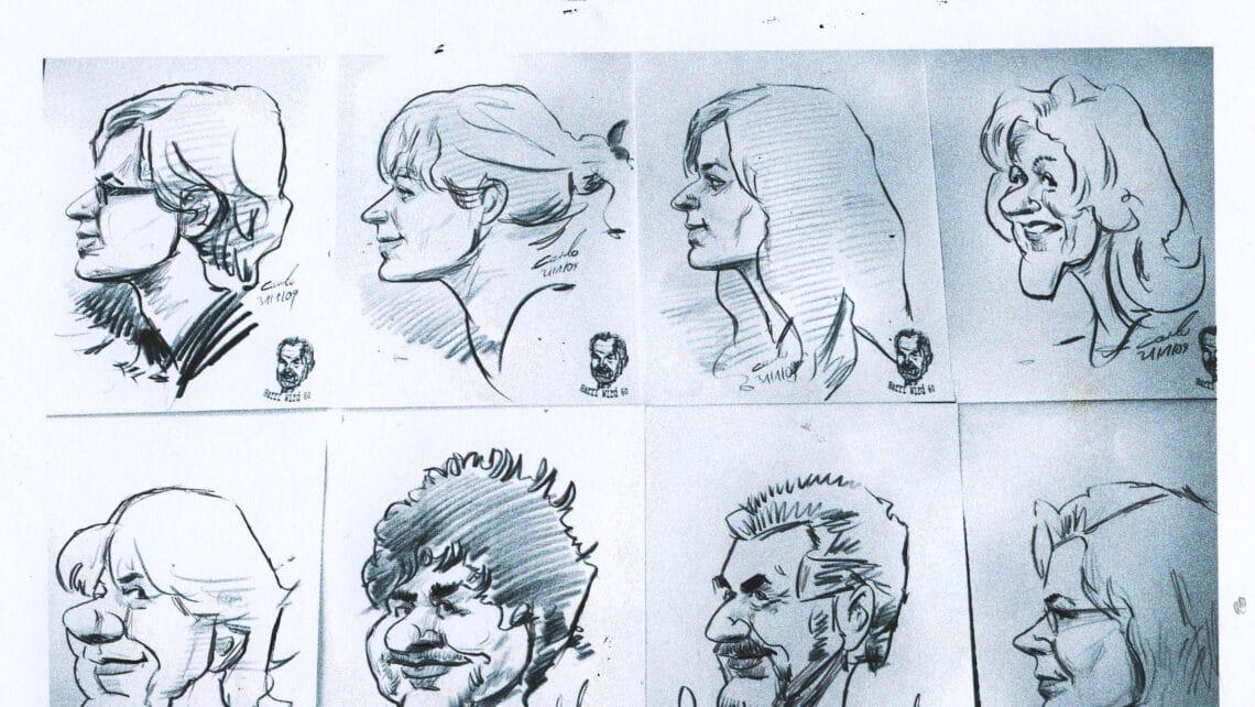 Zeichnungen | Portraits | Papier | Bleistift