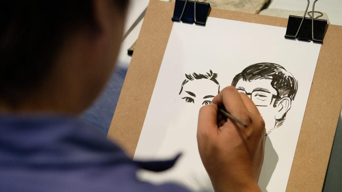 Papier | Maler | Hand | Pinsel